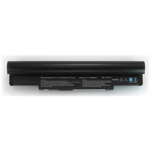 LI-TECH Batteria Notebook compatibile nero per SAMSUNG NP-N130-KA02-IT 6 celle 4400mAh 48Wh 4.4Ah