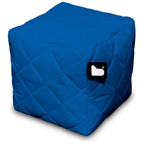 B-BAG Pouf Outdoor B-box Royal Blue Trapuntato