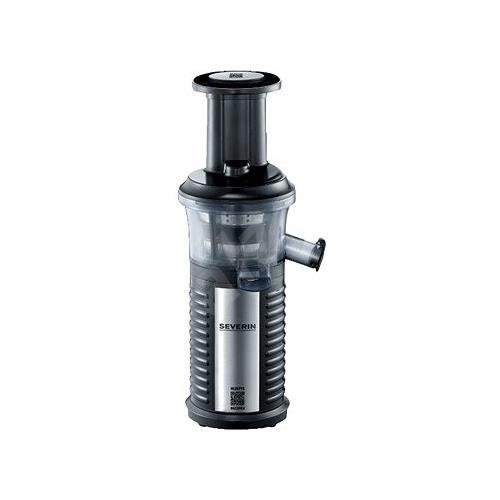 SEVERIN Estrattore di Succo Professionale senza lame Potenza 150 Watt Colore Acciaio Inox / Nero