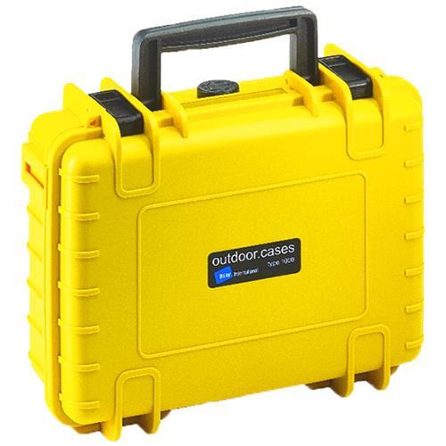 B&W International Valigia Caso per DJI Osmo Plus o DJI Osmo X3 Camera Gimbal Colore Giallo