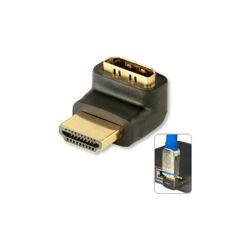 """LINDY Adattatore HDMI M / F a 90 gradi """"SÙ"""""""