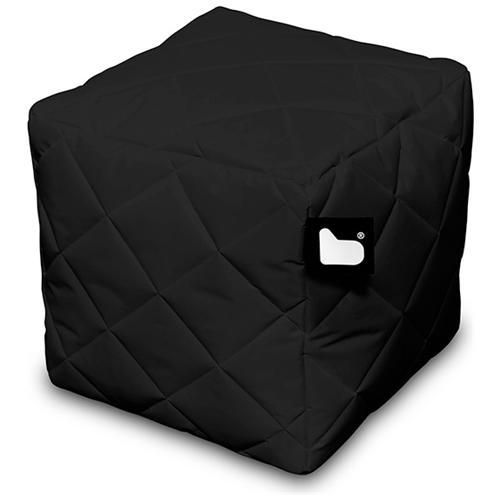 B-BAG Pouf Outdoor B-box Black Trapuntato