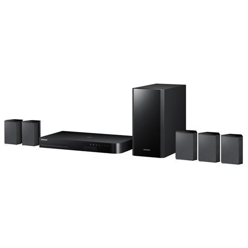 SAMSUNG Home Theatre HT-J4500 Lettore Blu-Ray User Equalizer Potenza Totale 500 Watt Wi-Fi Bluetooth USB / HDMI