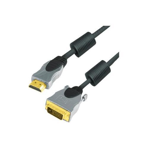 TECLINE 49910102H, 2m, HDMI, DVI-D