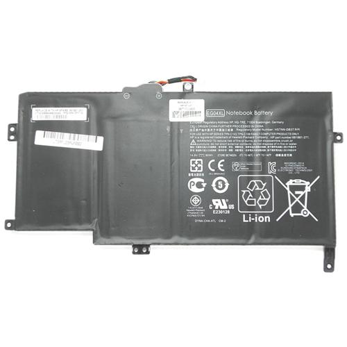 LI-TECH Batteria Notebook compatibile 3900mAh per HP ENVY 6-1006TU 8 celle 57Wh 3.9Ah