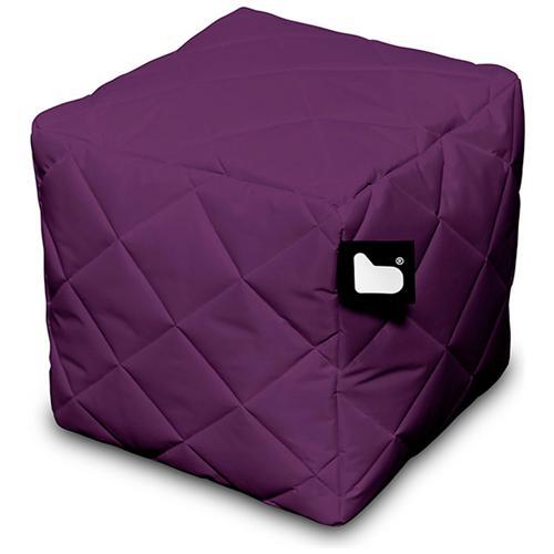 B-BAG Pouf Outdoor B-box Berry Trapuntato