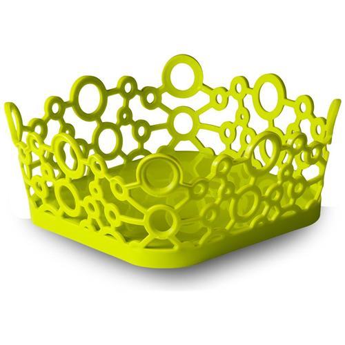 GiòStyle Cestino quadrato forme milleusi in verde