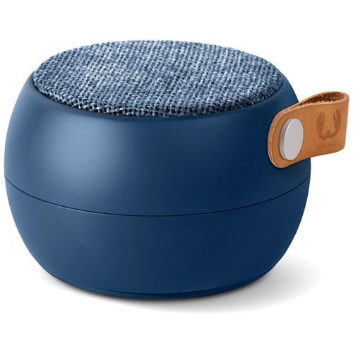 FRESH N REBEL Rockbox Round H2O Fabriq Edition Speaker Bluetooth impermeabile - Blu