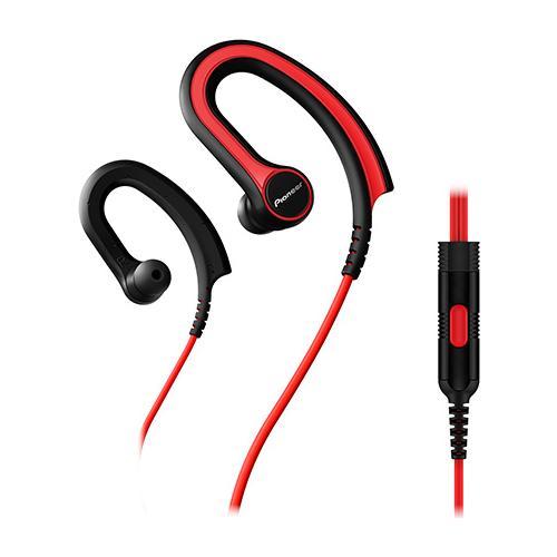 PIONEER Se-e711t Auricolari Sportivi Con Microfono - Rosso