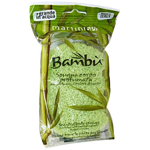 Martini Spugna Bagno Profumata Bamboo 4850bam - Spugna Da Bagno