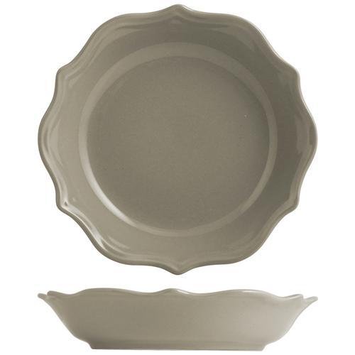 H&H Piatto Ceramica Adele Tortora Fondo Cm22 Tableware