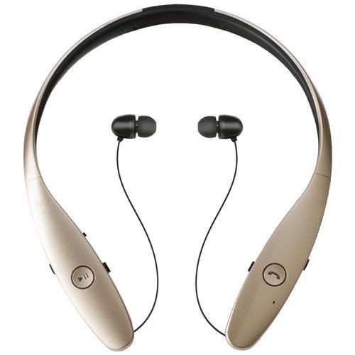 Takestop Cuffie Tone Wireless Bluetooth Auricolare Microfono Clip Retrattile Fili Stereo Per Smartphone Colore Casuale