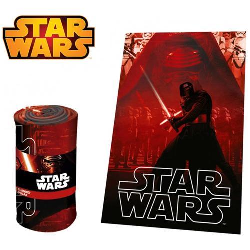 Star Wars Swe70258 Calda E Morbida Coperta In Pile Kylo Ren 100 X 150 Cm Plaid