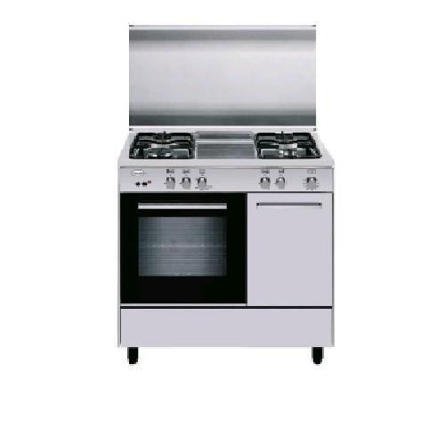 Glem gas cucina aer96mi3 con 4 fuochi a gas e forno elettrico multifunzione classe a - Eprice cucine a gas ...