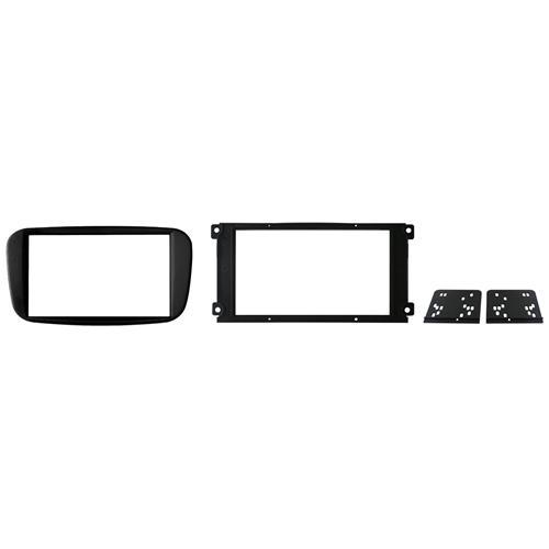 Phonocar Adattatore autoradio 03582 Kit di Fissaggio per mascherina Doppio DIN Nero lucido Ford