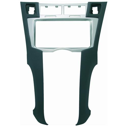 Phonocar Adattatore autoradio 03577 Mascherina 2Din nero / argento Yaris 07>12
