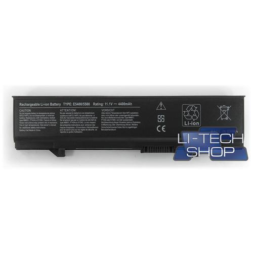 LI-TECH Batteria Notebook compatibile per DELL T749D 6 celle computer 4.4Ah