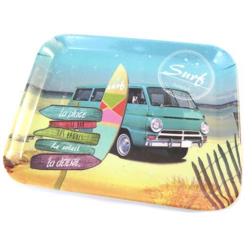 Les Trésors De Lily piccolo vassoio 'esprit surf' multicolore - 15x20 cm - [ p0991]