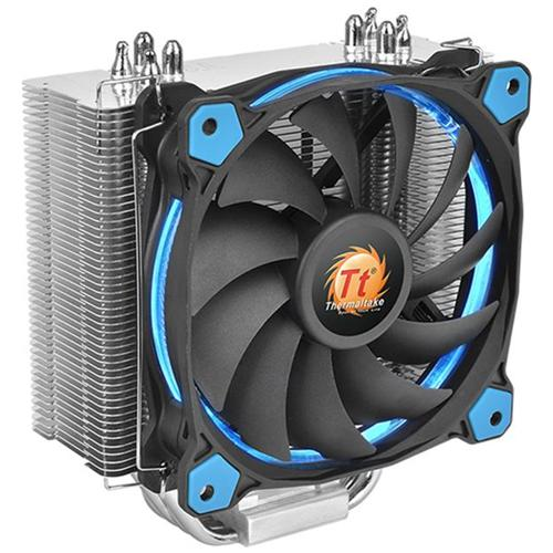 THERMALTAKE Dissipatore CPU ad Aria Riing Silent 12 Blu per Socket Intel LGA 2011-3/2011/1366/1156/1155/1151/1150/775 e Socket AMD AM4 / FM2 / FM1 / AM3+ / AM3 / AM2+ / AM2
