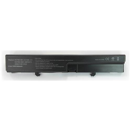 LI-TECH Batteria Notebook compatibile per HP COMPAQ 516 10.8V 11.1V 4400mAh nero 48Wh 4.4Ah