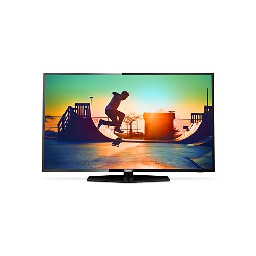 "PHILIPS TV LED Ultra HD 4K 50"" 50PUS6162/12 Smart TV UltraSlim"