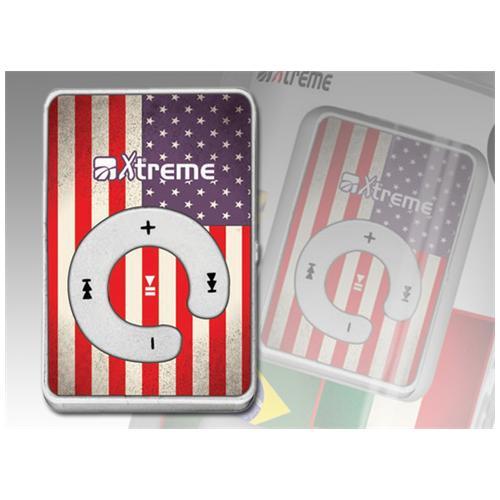 XTREME Lettore MP3 USA Flag 8GB