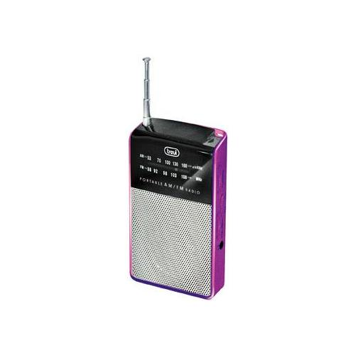 TREVI Radio Portatile AM / FM RA 725 Colore Fucsia