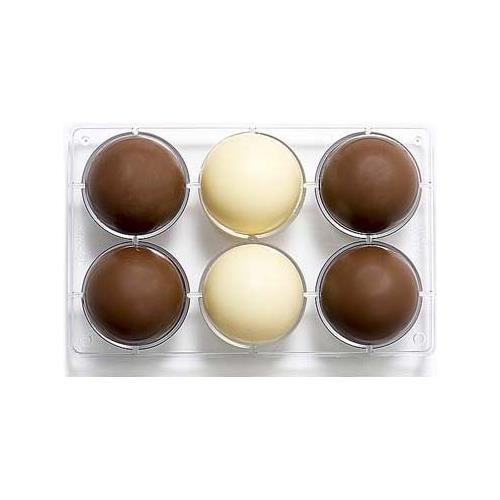 Decora Stampo cioccolatino 1/2 sfera 75-275x15x22mm