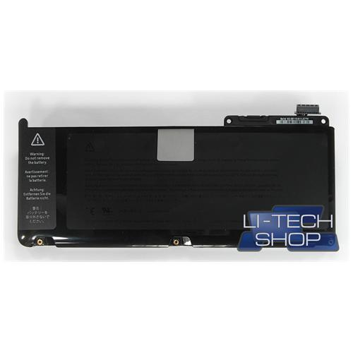 LI-TECH Batteria Notebook compatibile 5800mAh per APPLE 02068094 nero computer