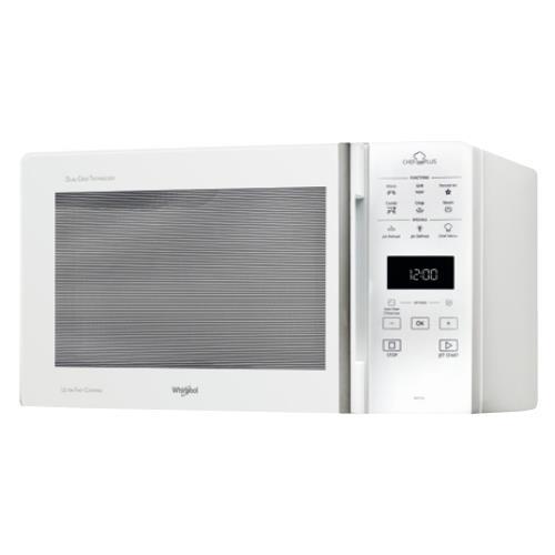 WHIRLPOOL Forno a Microonde MCP349WH con Grill e Cottura a Vapore Capacità 25 Litri Potenza 800 Watt Colore Bianco