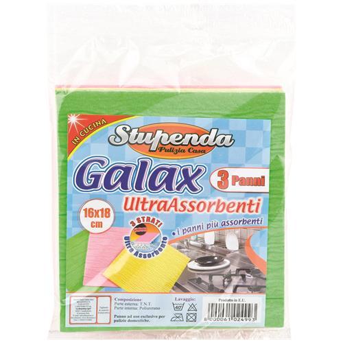 LA BRIANTINA Pannispugna Galax 3 Pezzi