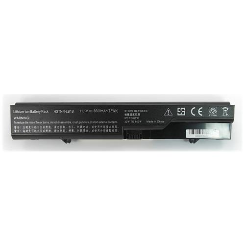 LI-TECH Batteria Notebook compatibile 9 celle per HP COMPAQ HSTNN-YB14 nero