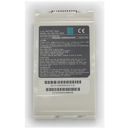 LI-TECH Batteria Notebook compatibile 3600mAh per TOSHIBA PA3364U-IBAS 40Wh 3.6Ah