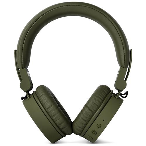 FRESH N REBEL Cuffie Sovraurali Caps Wireless Headphones Bluetooth - Verde Militare