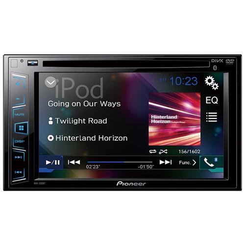 "PIONEER Sintolettore CD / DVD AVH-290BT Schermo LCD 6.2"" Potenza 4 x 50 W"