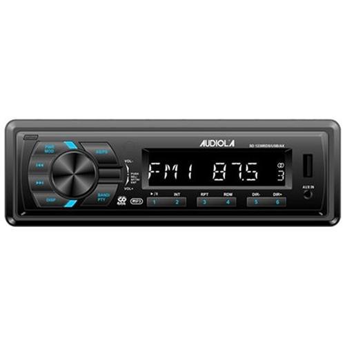 Audiola SD-1238 RDS / USB / AX Autoradio RDS con USB, Slot Micro SD e AUX (Black)