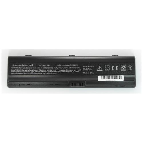 LI-TECH Batteria Notebook compatibile 5200mAh per HP PAVILLION DV6400A nero pila 57Wh
