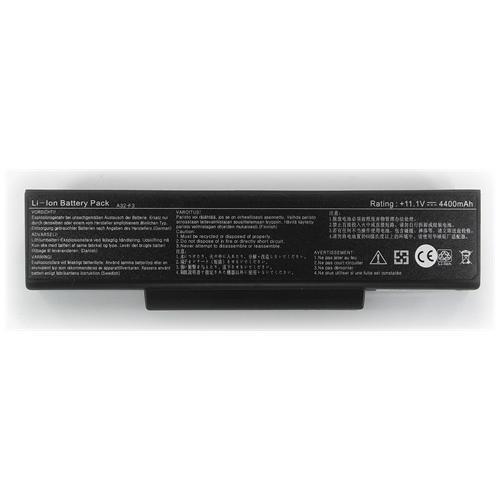 LI-TECH Batteria Notebook compatibile per ASUS F3LAP027 4400mAh nero computer 48Wh