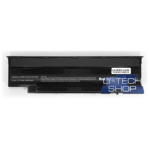 LI-TECH Batteria Notebook compatibile per DELL INSPIRON 13RT510-432TW 10.8V 11.1V nero pila