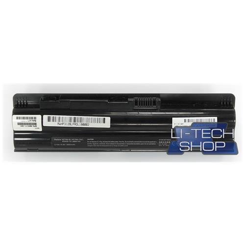LI-TECH Batteria Notebook compatibile 9 celle per HP PAVILLON DV3-2115EA nero 73Wh