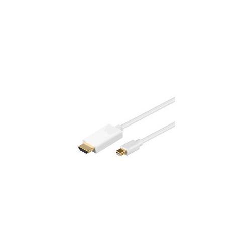 MICROCONNECT 1.8m MDP / HDMI M / M, 1,8m, mini DisplayPort, HDMI