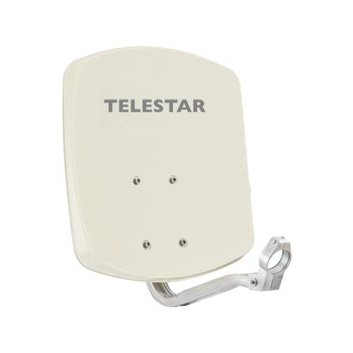 Telestar ALURAPID 33, 30 dBi, 33 cm, Beige, Alluminio