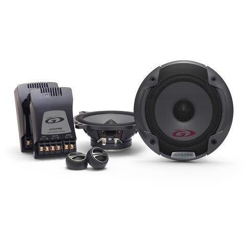 ALPINE SPG-13CS Speakers Separati a 2 vie da 13cm con Crossover Potenza massima 250Watt