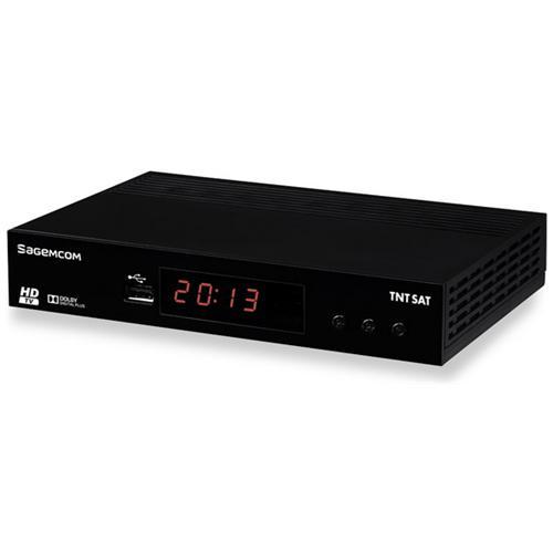 SAGEMCOM DS81 HD, Satellite, DVB-T2, Digitale
