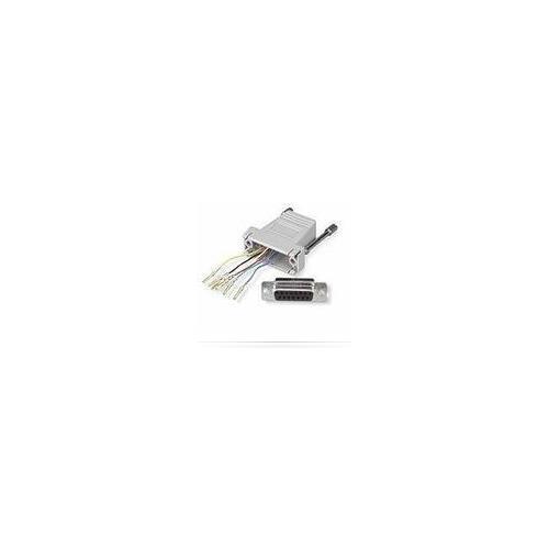 MICROCONNECT 201-7015, 15p Sub-D, Grigio