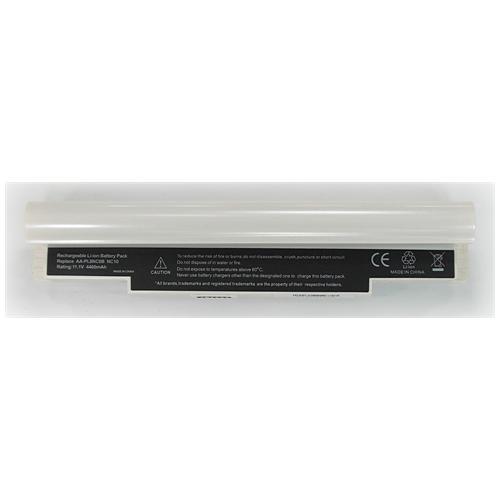 LI-TECH Batteria Notebook compatibile bianco per SAMSUNG NP-N130-KA02-RU pila 48Wh 4.4Ah