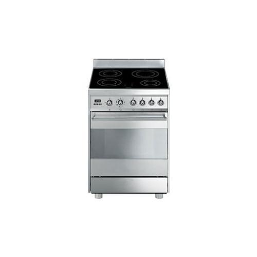 SMEG - Cucina Elettrica C6IMXI8-2 4 Zone Cottura a Induzione Forno ...