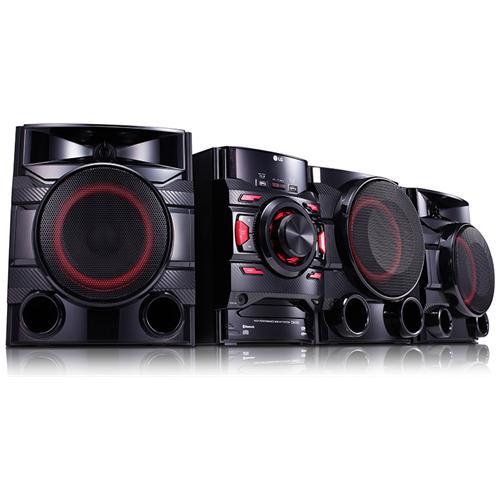 LG Sistema Mini Hi-Fi CM4560 Potenza Totale 700W Lettore CD Supporto MP3 / WMA Bluetooth USB