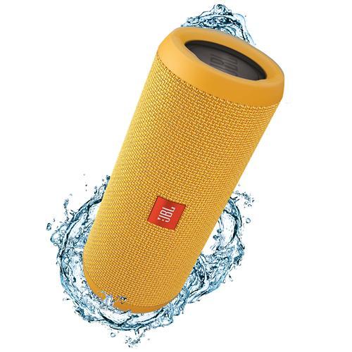 JBL Speaker Audio Portatile Flip 3 Bluetooth Impermeabile Potenza 2 x 8W colore Giallo