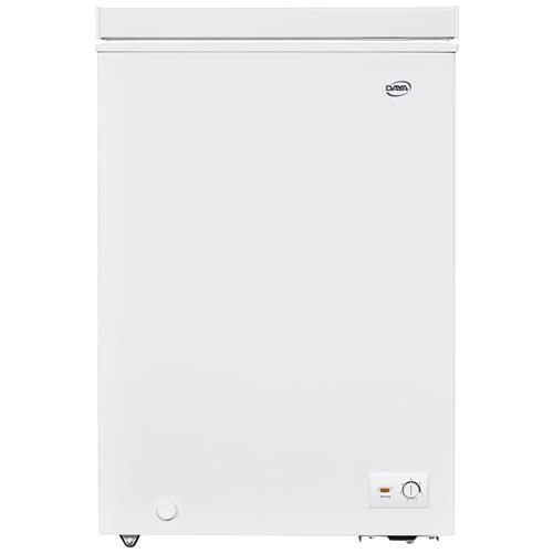DAYA Congelatore Orizzontale DCP-108H8 Bianco 100 L Classe A+